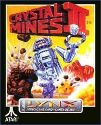 Carátula del juego Crystal Mines II (Atari Lynx)