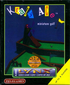 Portada de la descarga de Krazy Ace Miniature Golf