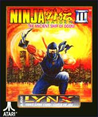 Portada de la descarga de Ninja Gaiden III: The Ancient Ship of Doom
