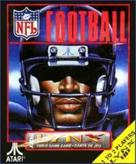 Carátula del juego NFL Football (Atari Lynx)