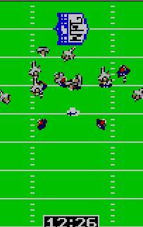 Pantallazo del juego online NFL Football (Atari Lynx)