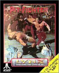 Portada de la descarga de Pit-Fighter