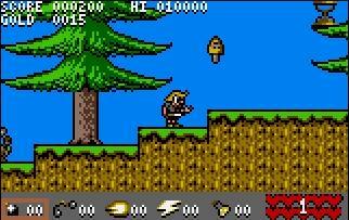 Pantallazo del juego online Viking Child (Atari Lynx)