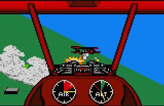 Pantallazo del juego online Warbirds (Atari Lynx)