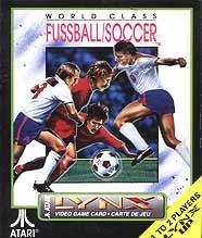 Carátula del juego World Class Soccer (Atari Lynx)