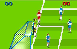 Pantallazo del juego online World Class Soccer (Atari Lynx)