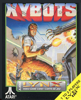 Carátula del juego Xybots (Atari Lynx)