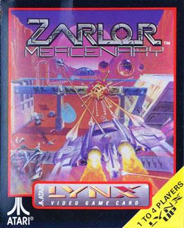 Carátula del juego Zarlor Mercenary (Atari Lynx)