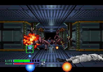 Pantallazo del juego online Alien3 The Gun (Mame)