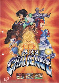 Juego online Alien Challenge (MAME)