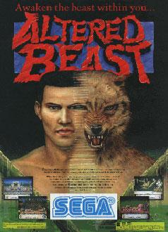 Carátula del juego Altered Beast (Mame)