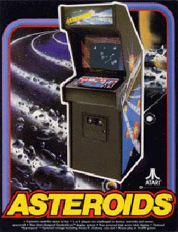 Portada de la descarga de Asteroids