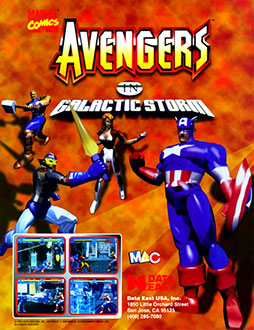 Juego online Avengers in Galactic Storm (MAME)
