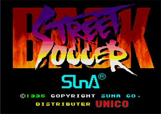 Juego online Back Street Soccer (MAME)