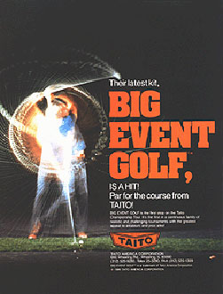 Juego online Big Event Golf (MAME)