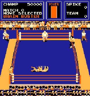 Pantallazo del juego online The Big Pro Wrestling (Mame)