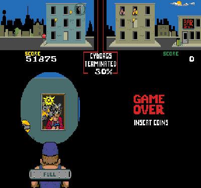 Pantallazo del juego online Blasted (Mame)