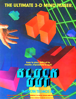 Juego online Blockout (MAME)