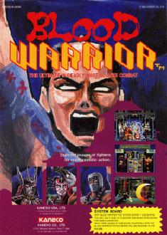 Carátula del juego Blood Warrior (Mame)