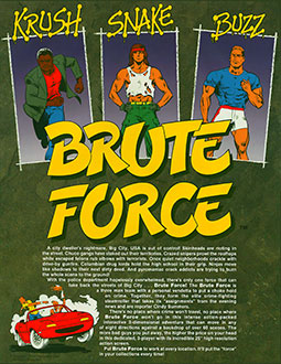 Juego online Brute Force (MAME)