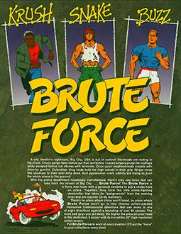 Portada de la descarga de Brute Force