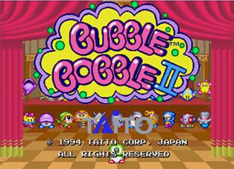 Juego online Bubble Bobble II (MAME)
