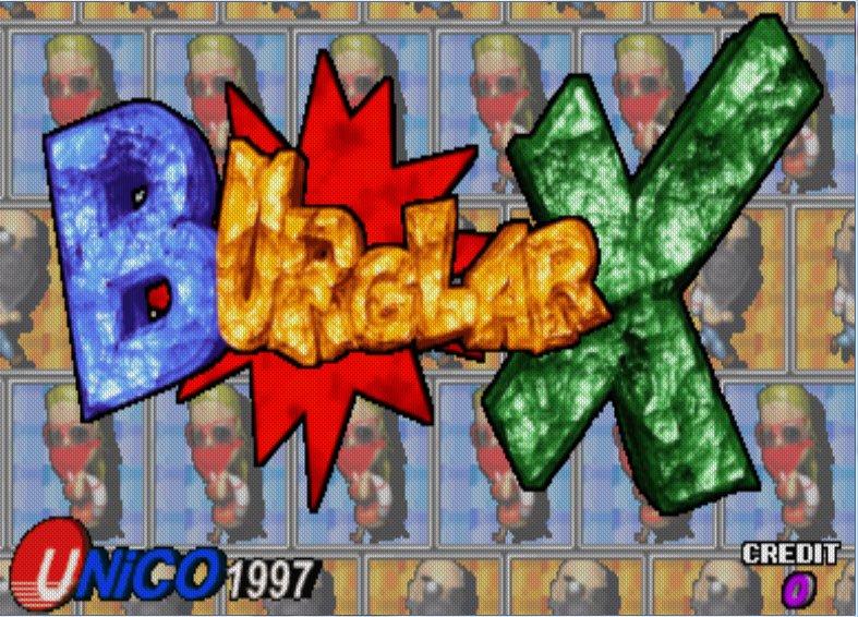 Juego online Burglar X (MAME)