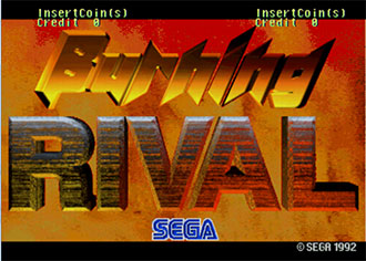 Juego online Burning Rival (MAME)