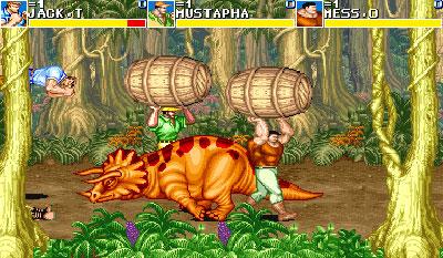 Pantallazo del juego online Cadillacs and Dinosaurs (Mame)