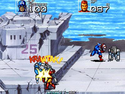 Imagen de la descarga de Captain America and The Avengers