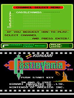 Juego online Castlevania (PlayChoice-10) (MAME)