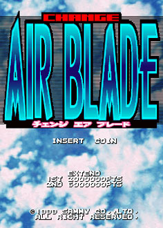 Juego online Change Air Blade (MAME)