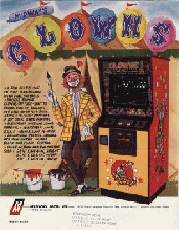 Juego online Clowns (MAME)