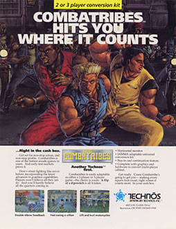 Juego online The Combatribes (MAME)