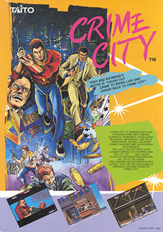 Portada de la descarga de Crime City