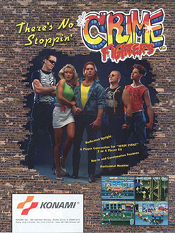 Carátula del juego Crime Fighters (MAME)