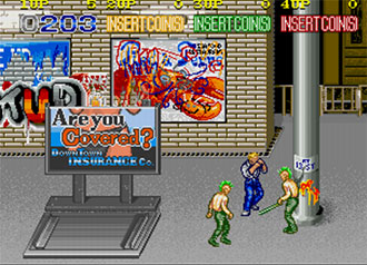 Pantallazo del juego online Crime Fighters (MAME)