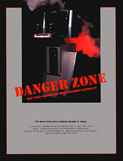 Portada de la descarga de Danger Zone