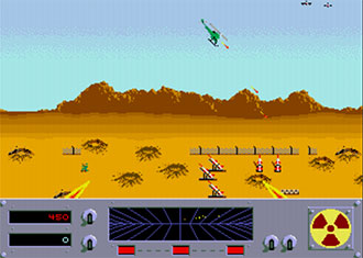 Pantallazo del juego online Danger Zone (MAME)
