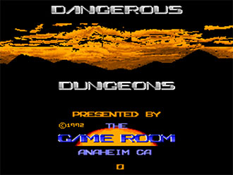 Carátula del juego Dangerous Dungeons (MAME)