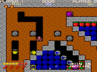 Pantallazo del juego online Dangerous Dungeons (MAME)