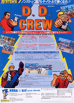 Juego online D. D. Crew (MAME)