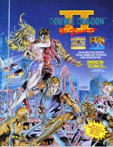 Carátula del juego Double Dragon 2 (Mame)