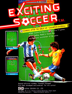 Juego online Exciting Soccer (MAME)
