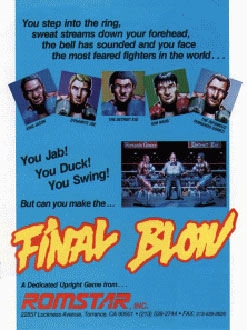 Juego online Final Blow (MAME)