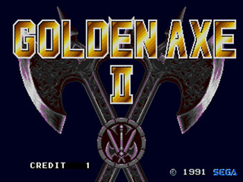 Juego online Golden Axe II (Mega Play) (MAME)