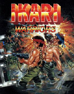 Portada de la descarga de Ikari Warriors