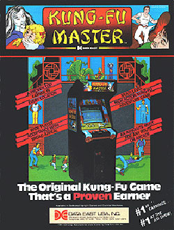 Juego online Kung-Fu Master (MAME)
