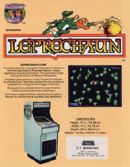 Juego online Leprechaun (MAME)