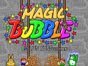 Portada de la descarga de Magic Bubble